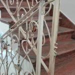 ringhiera scala ferro battuto dettaglio 2