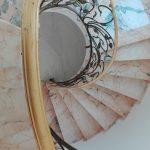 passamano scale ferro battuto foglie 2