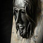 volto di cristo in ferro battuto 2