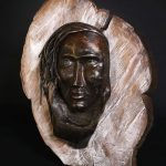 maddalena scultura in ferro