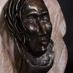maddalena scultura ferro dettaglio